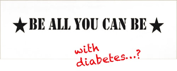 Army slogan diabetes