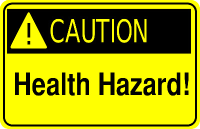 CautionHealthHazard