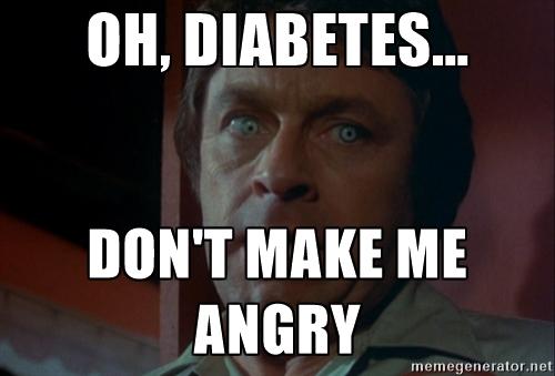 Diabetes Anger MeMe