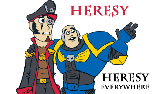 Heresy Everywhere