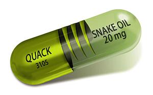 Snake Oil pill