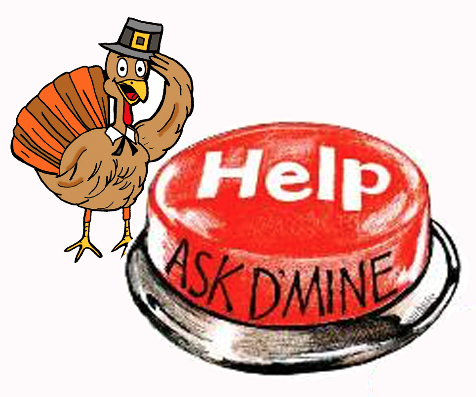 AskDMineThanksgiving