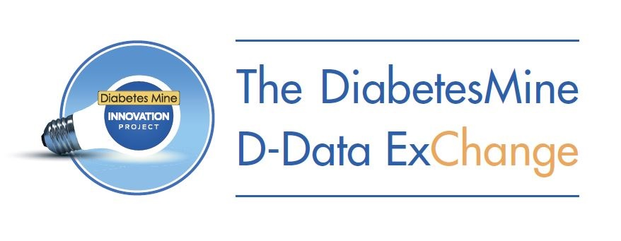 DiabetesMine D-Data ExChange logo