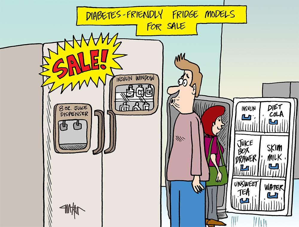 Diabetes Refridgerator