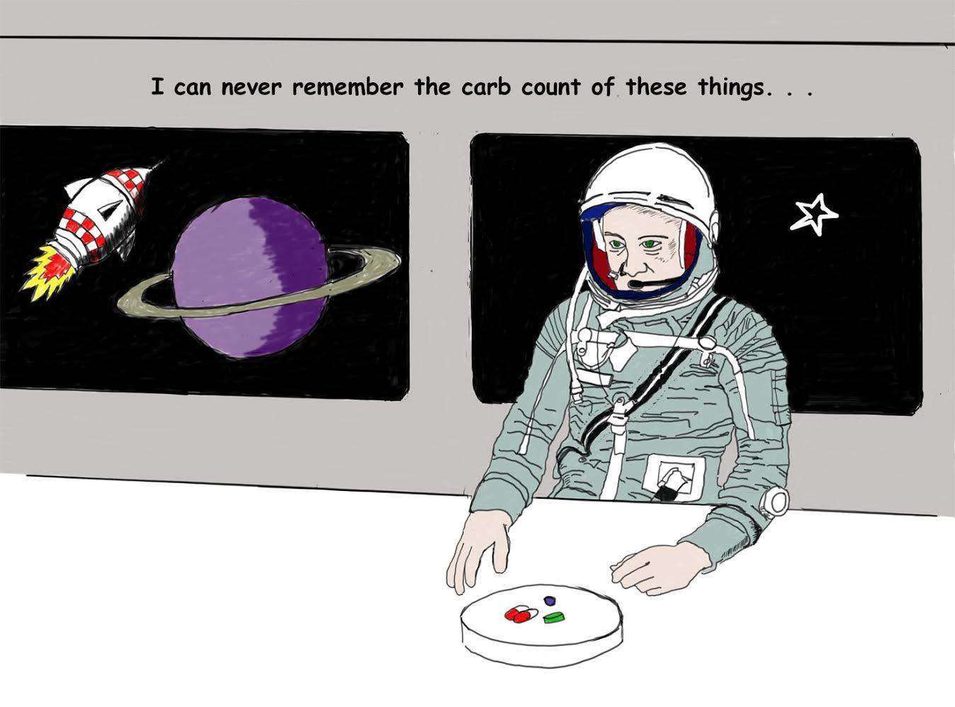 Diabetes in Space
