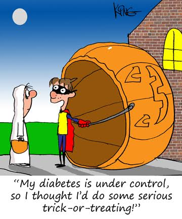 Halloween and diabetes