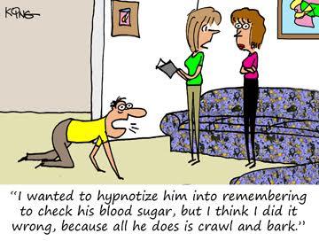 Hypnotized with Diabetes