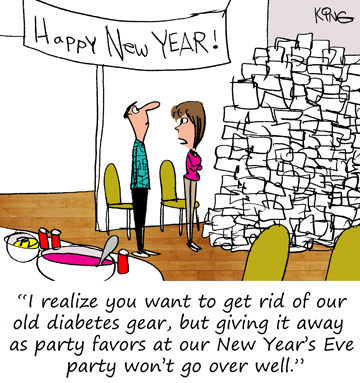 Diabetes Sunday Funnies: Comics & Humor from January - June 2017