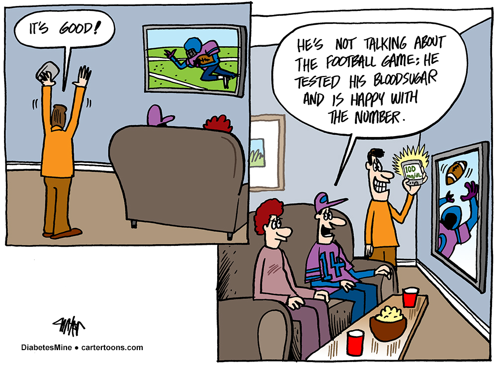 DiabetesMine Sunday Funnies by Jon Carter