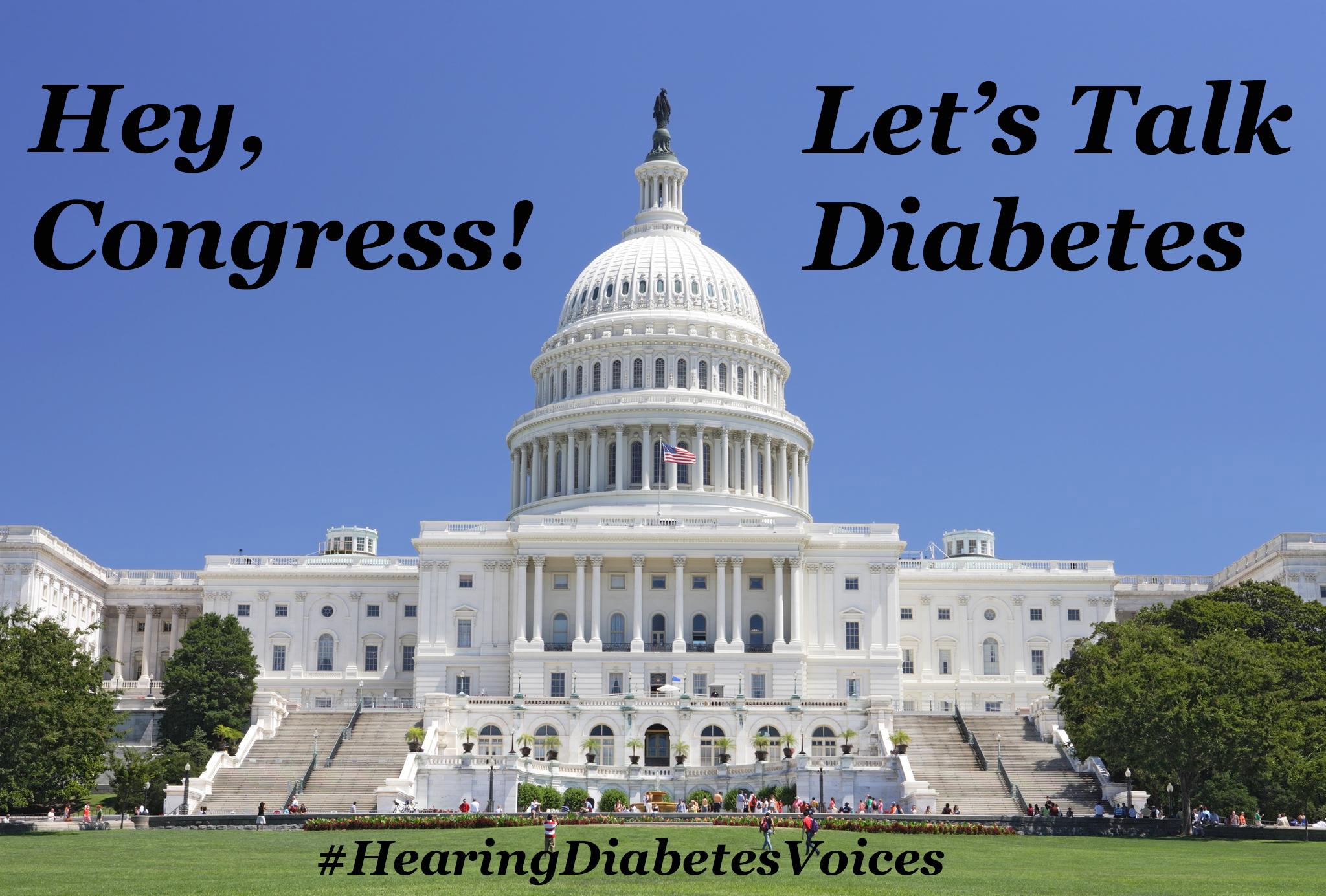 Congress and diabetes