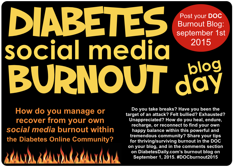 Diabetes Social Media Burnout