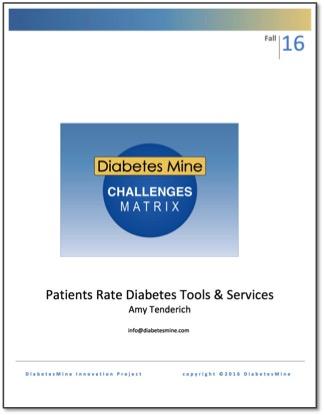 DiabetesMine Challenges Matrix Report