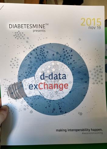 DiabetesMine D-Data ExChange brochure - November 2015