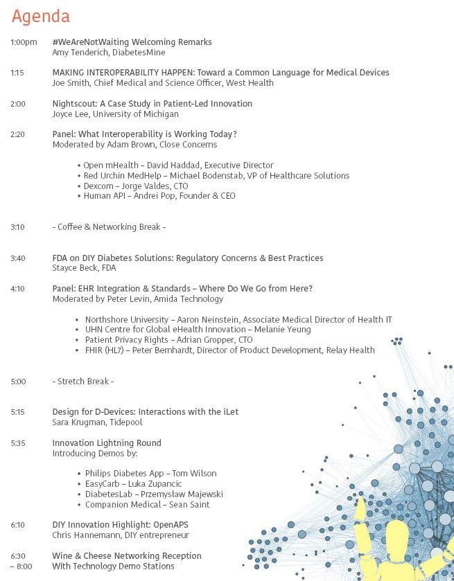 DiabetesMine D-Data ExChange agenda - November 2015