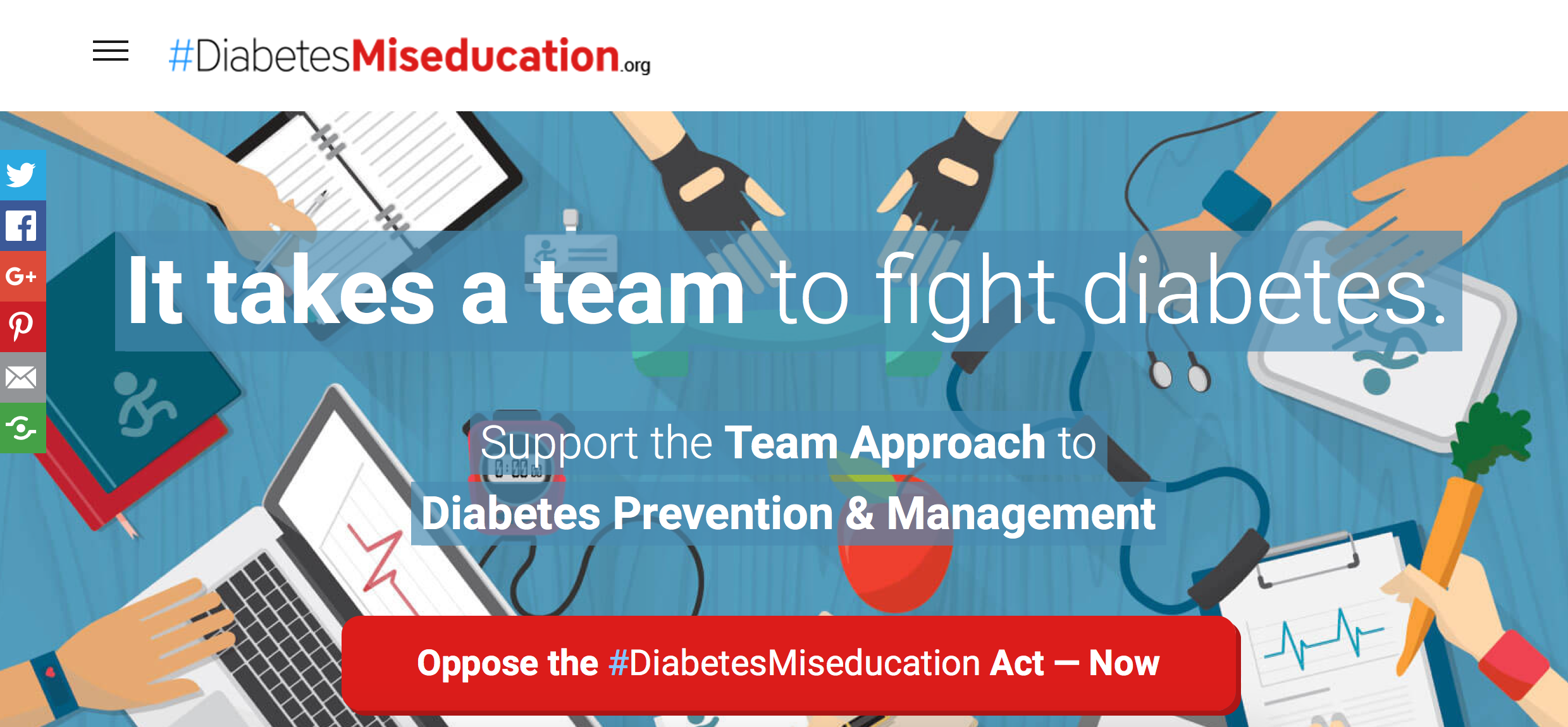 Diabetes Miseducation