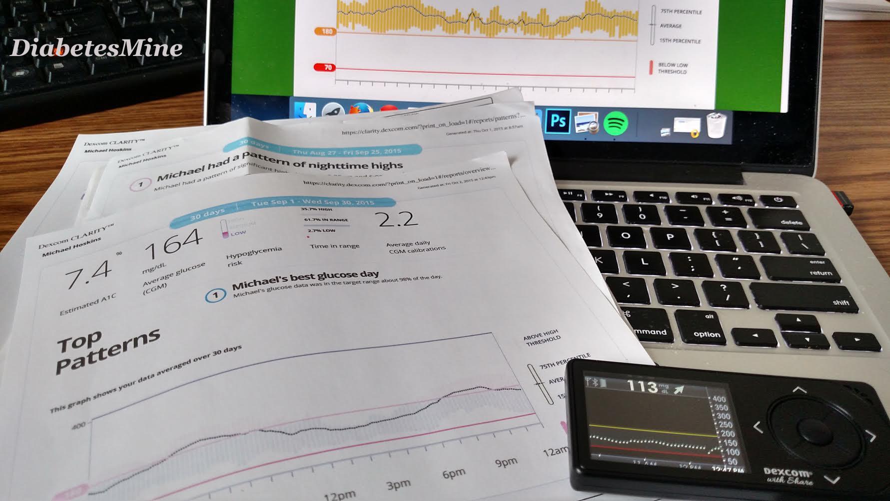 Diabetes CGM Data