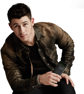 Nick Jonas with Dexcom SHARE