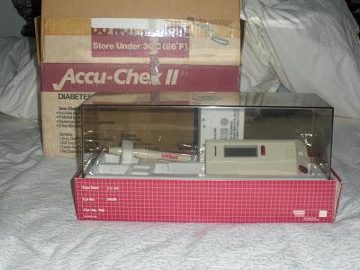 Old Accu-Check glucose meter
