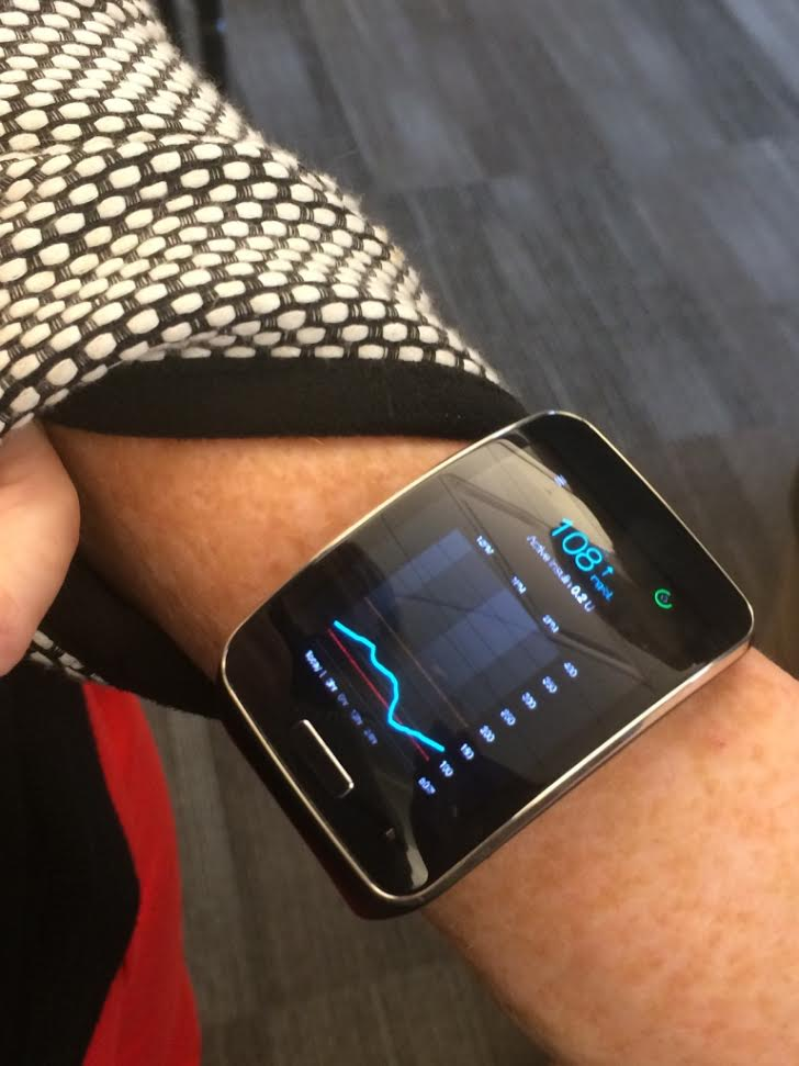 Samsung Medtronic Smartwatch
