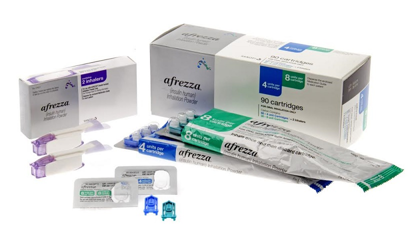 Afrezza packaging