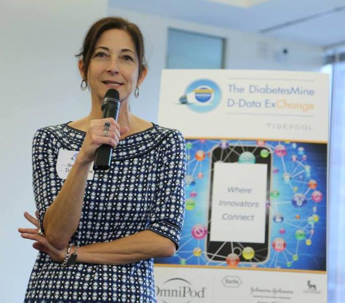 Amy Tenderich at DiabetesMine D-Data ExChange