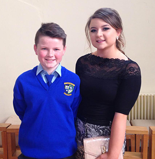 Conor and Ciara Carew