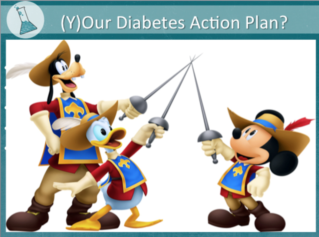 Diabetes Advocate Musketeers