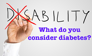 Is diabetes considered a disability?