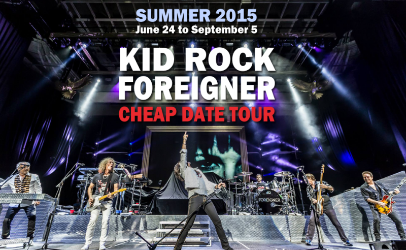 Cheap Date Tour with Kid Rock