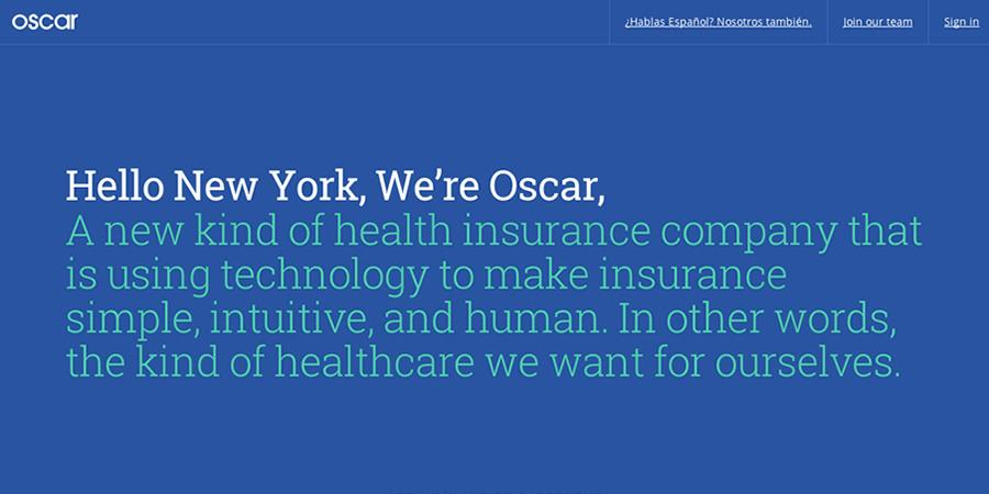 Oscar Health technology