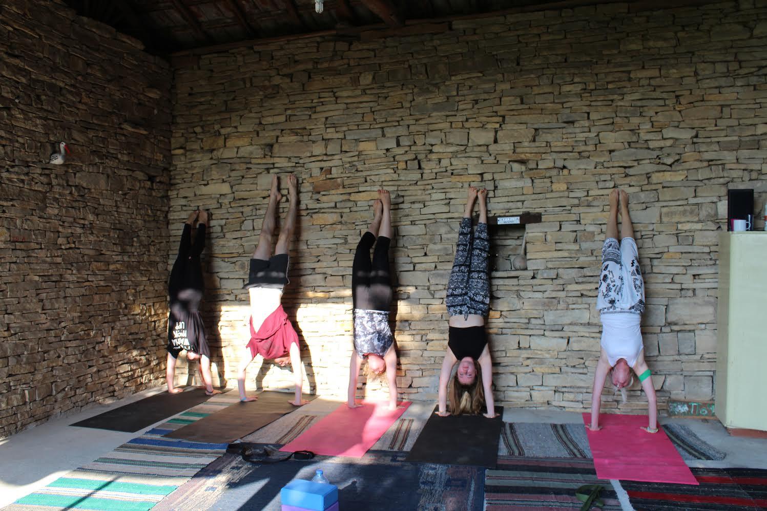 Yoga Handstands