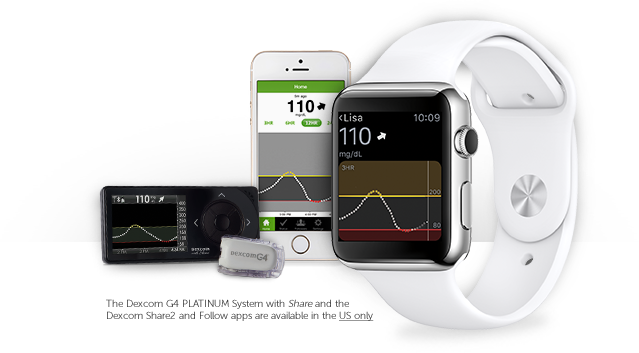 Apple Watch Dexcom App