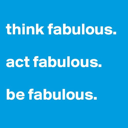 Think Fabulous