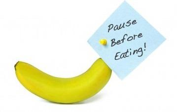 Mindful Eating reminder