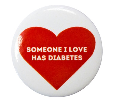 someone I love has diabetes