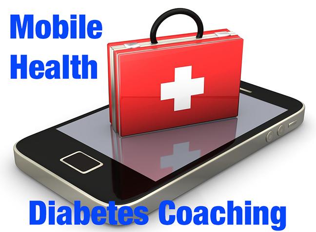 mHealth diabetes coaches