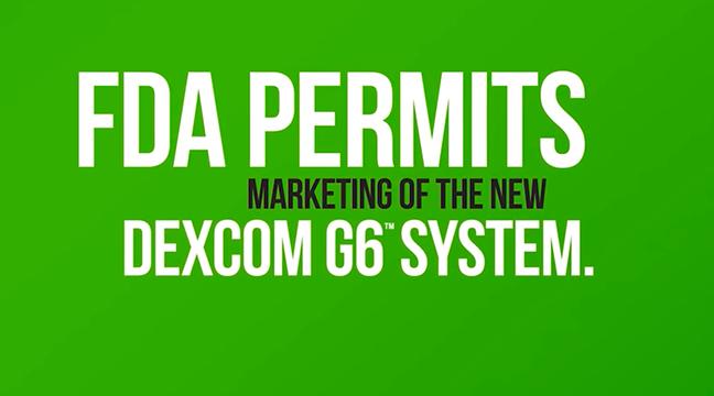NEWS: FDA Approves the Dexcom G6 CGM!