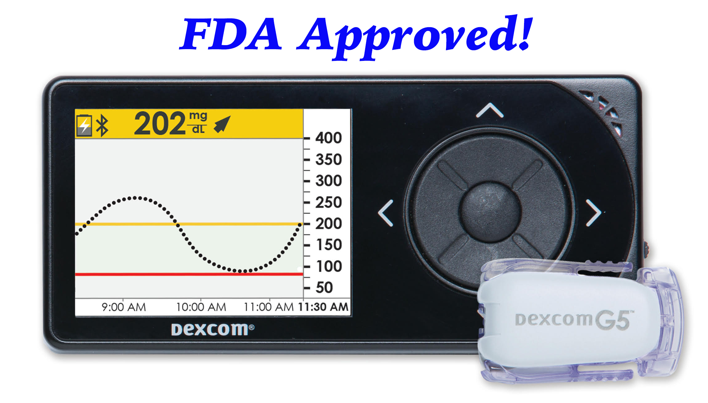 Dexcom G5 Mobile Approved