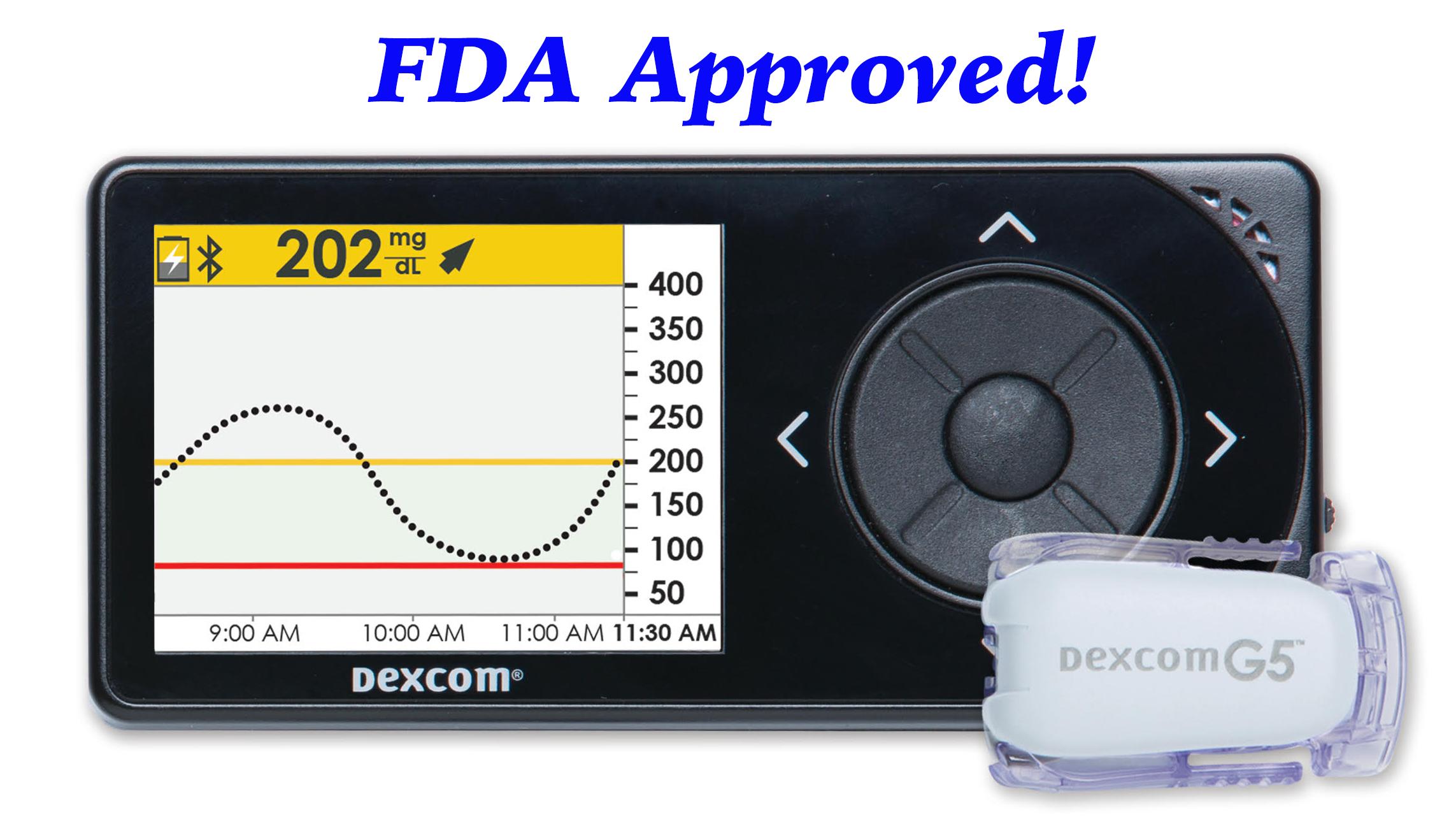 Diabetes News Fda Approves Dexcom G5 Mobile Cgm
