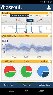 diasend phone app