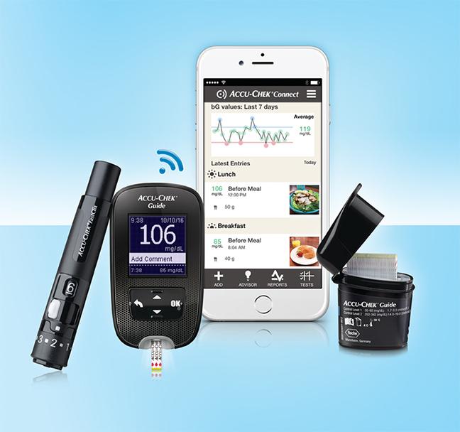 Roche S Creative New Accu Chek Guide Glucose Meter
