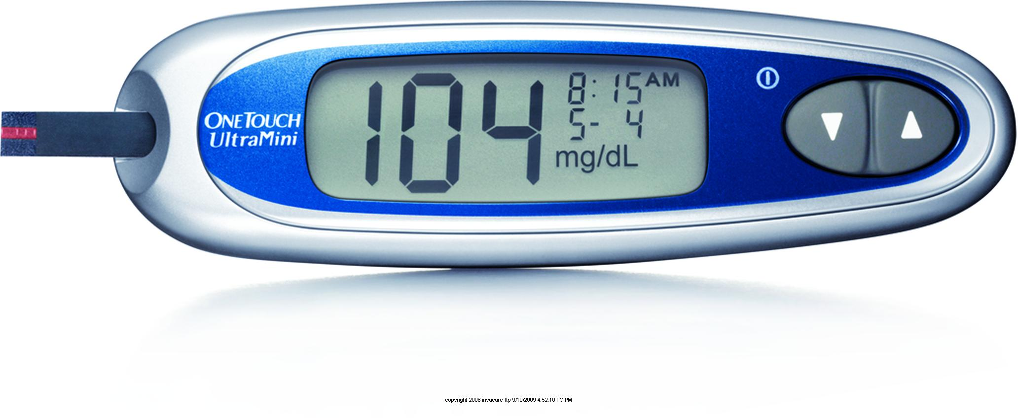 OneTouch Ultra Mini glucose meter