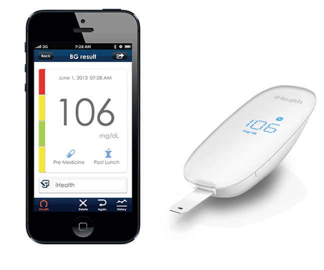 iHealth meter and app