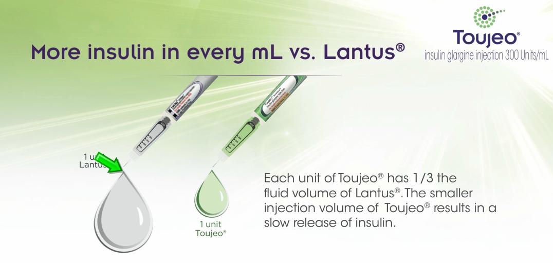 Age of lantus