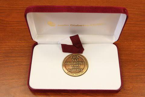 Joslin 50-year medal