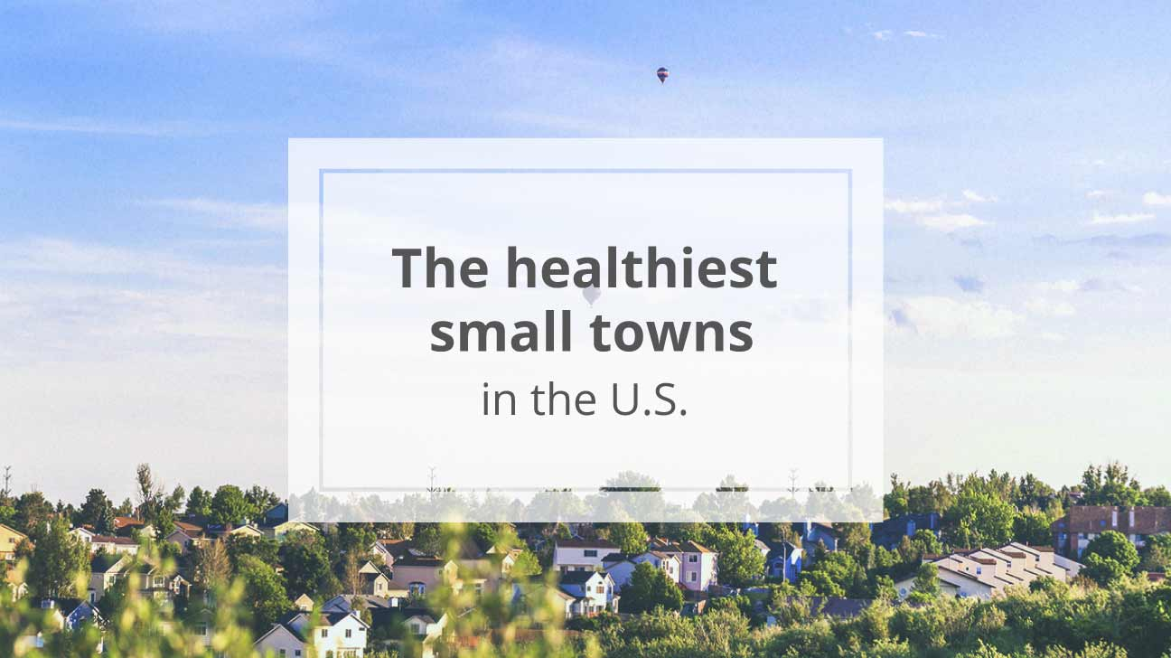 healthiest small towns in us