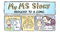 My MS Diagnosis Story: Reduced to a Comic