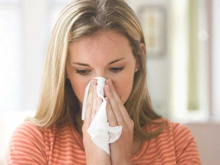 blood when blowing nose cancer in mucus and sinus infection