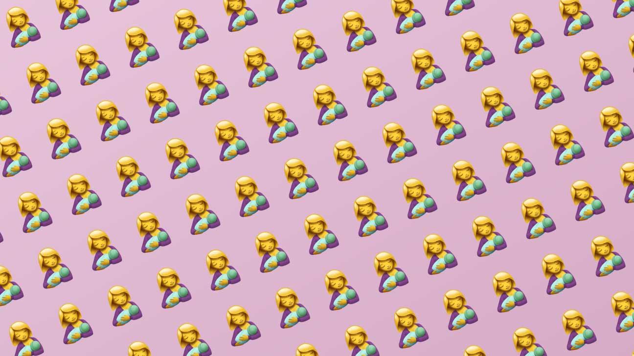 breastfeeding emoji