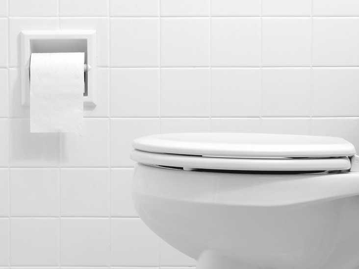 husband always in bathroom